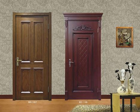 BD-157烤漆实木门